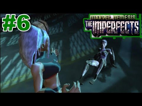Marvel Nemesis: Rise Of The Imperfects PS2 Gameplay #6 [Storm vs Fault Zone]