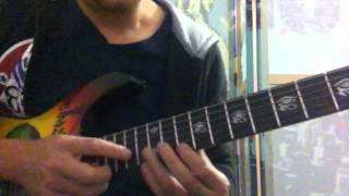 Sea of lies - Symphony x cover solo ( lesson Olivos Strings)