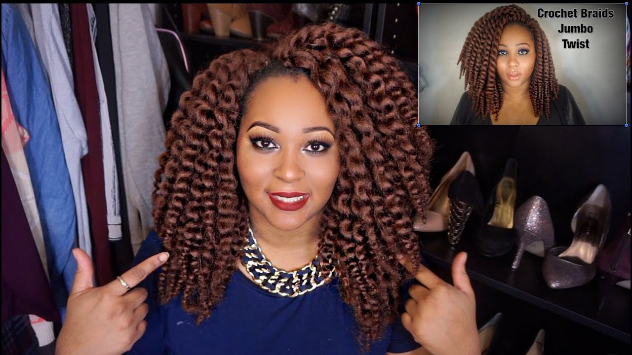 Crochet Box Braids Unraveled : AUTHENTIC Jumbo Twist Crochet Braids Unraveled - YouTube