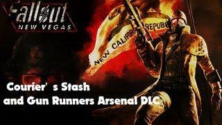 Fallout New Vegas - Courier's Stash and Gun Runners Arsenal DLC