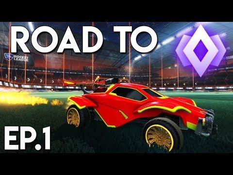 ROAD TO CHAMP! (Ep.1) | Rocket League *NEW* 1v1 Series! thumbnail