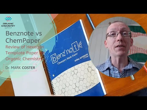 Benznote vs ChemPaper: Review of Hexagon Template Paper for Organic Chemistry