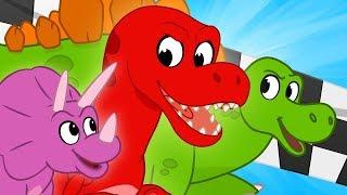 Dinosaur Race - My Magic Pet Morphle   Cartoons For Kids   Mila and Morphle   Kids Videos