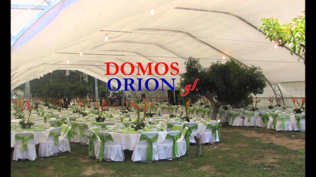 Renta y alquiler de mobiliario para todo tipo de eventos for Carpas para jardin
