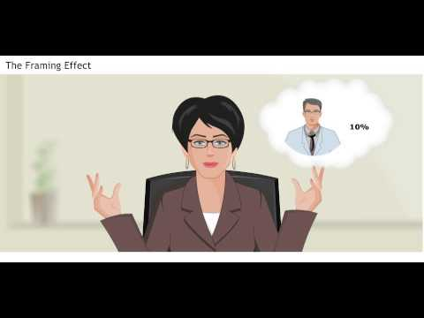 Cognitive Bias in Negotiations -The Framing Effect