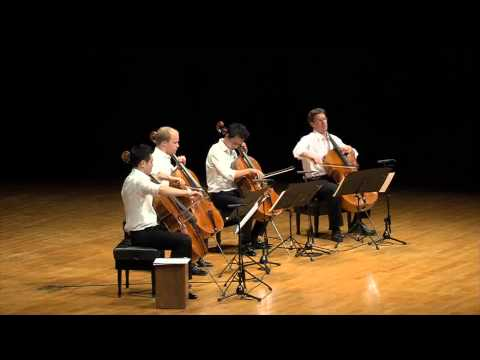 Ravel Bolero for cello quartet (full length) - The 4cellists
