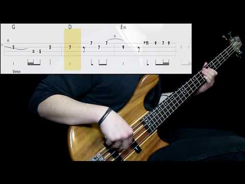 Red Hot Chili Peppers - Wet Sand (Bass Cover) (Play Along Tabs In Video)
