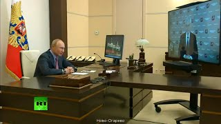 Putin holds a meeting with Moscow Mayor on COVID-19 situation in the city [REFEED]