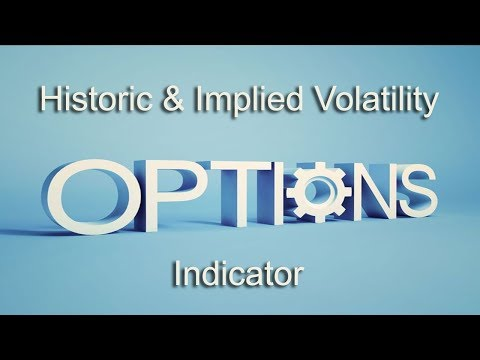 Options Trading Historic And Implied Volatility Indicator For Indian Stock Market