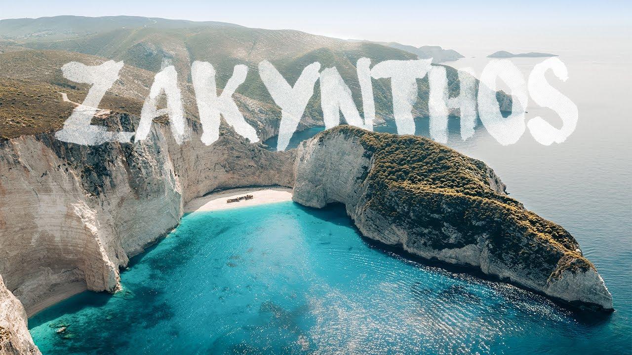 ZAKYNTHOS   ZANTE, Greece   Best Beaches 4K