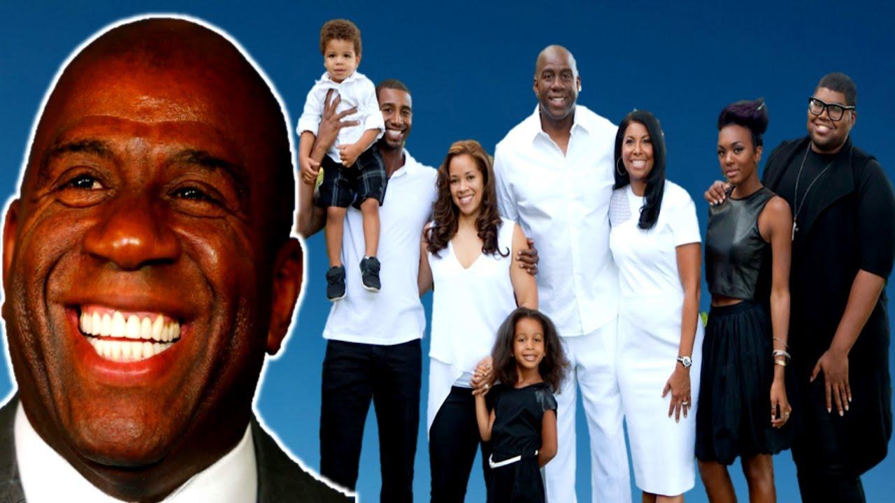NBA Legend Magic Johnson VERY MESSY Affairs & 4 Children (2020)