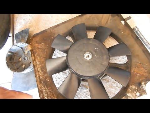 Замена крыльчатки . Как установить восьмилопастную крыльчатку вентилятора охлаждения ВАЗ 2115 .