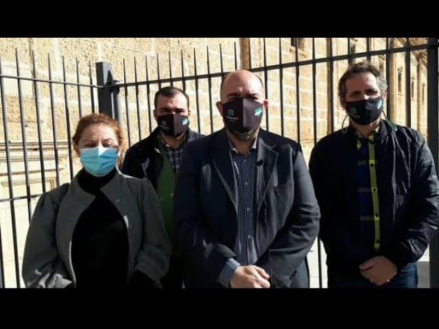 AxSí exige la retirada del despacho a Falange en el Parlamento Andaluz