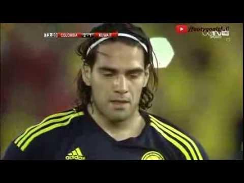 Radamel Falcao Goal - Kuwait vs Colombia 1-3