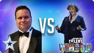 Paul Potts vs Susan Boyle | Britain's Got Talent World Cup 2018