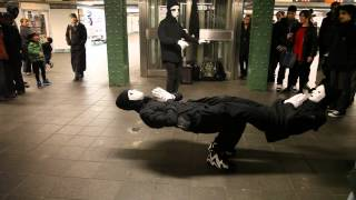 Adele - Skyfall -- Dance in the New York subway station