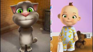 Talking Babsy Baby vs My Talking Tom-Kids cartoons new full episode
