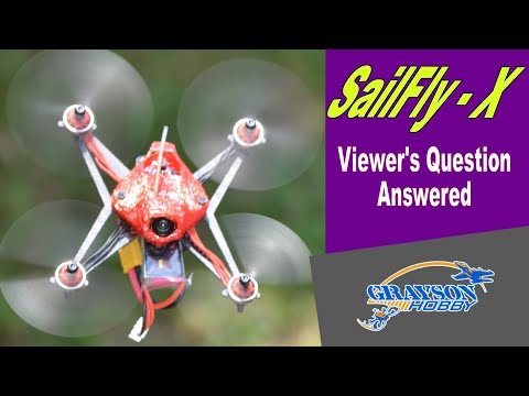 How to Bind SailFlyX FrSky Taranis - How to Bind FPV Drone