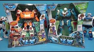 또봇 에볼루션 X Y 개봉 변신자동차 장난감 Tobot  X Y Transforming Robot car toy