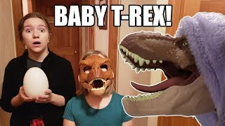 Do dinosaurs make good pets? Funny skit where Jillian and Addie fin...