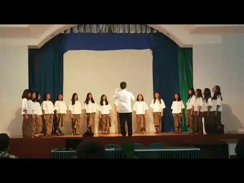 Ivan Yohan: Pentatonic Hallelujah (SSAA Version) - Abdi Siswa Patra Youth Choir. Dir: Caspar