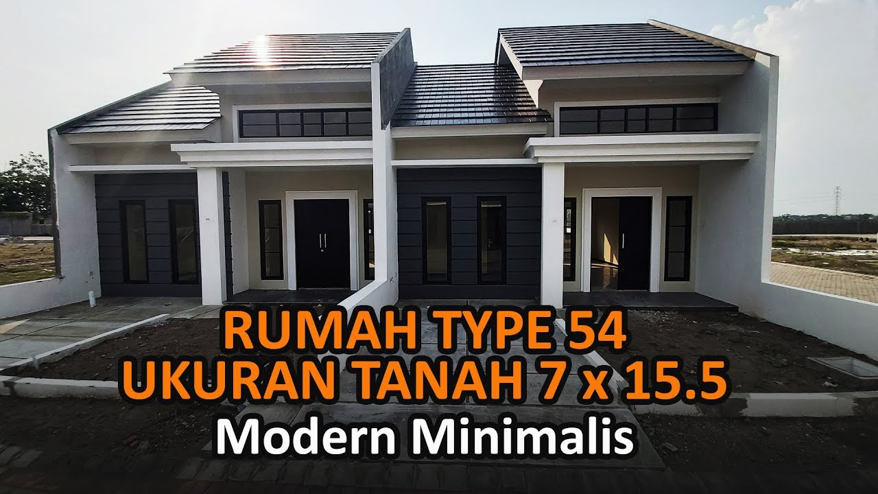 Review Rumah Minimalis Type 54 Jawatimur - YouTube