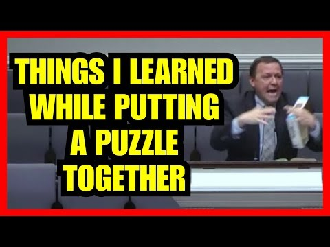 """Things I Learned While Putting A Puzzle Together"" – Jimmy Toney"