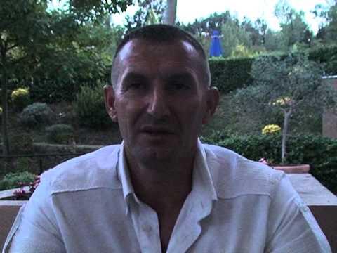 SPORT   TIRANA   BABASI   INTERVISTA     ABK