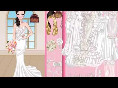 994d37435 تلبيس عرايس جميلة وفساتين زفاف مختلفة العاب بنات فقط - YouTube