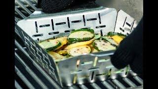 Овощи-гриль - самый вкусный рецепт. Используем специальный противнь для овощей.