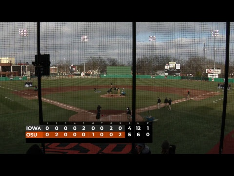 Oklahoma State Cowboy Baseball vs. Iowa - Game 1 Mp3