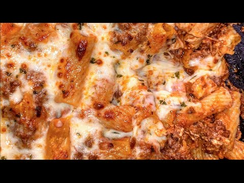 Ultimate Baked Ziti How to make Baked Ziti with Meat Sauce | Let's Eat Cuisine