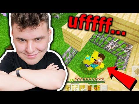 Minecraft na Telefon - ZŁAPAŁEM HEROBRINE!!!!!! #16