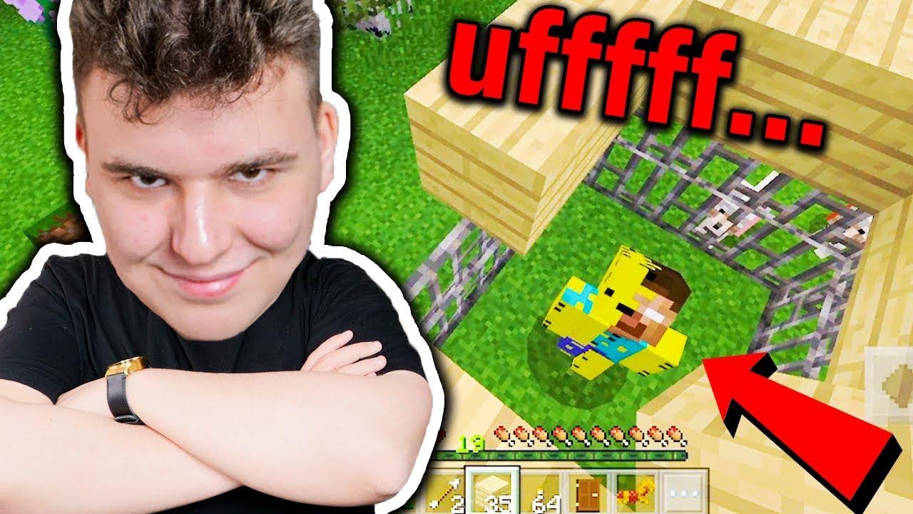 Minecraft na Telefon – ZŁAPAŁEM HEROBRINE!!!!!! #16