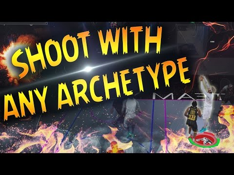 HOW TO SHOOT WITH ANY ARCHETYPE & GET GREENS EVERY TIME WITH ANY PLAYER IN NBA 2K17! PROAM & MYPARK!
