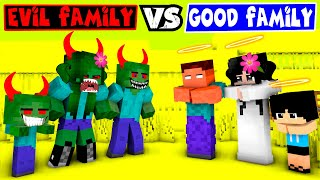 Evil Family vs Good Family LUCKY WHEEL ( SPIN THE WHEEL ) Challenge