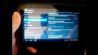 настройка GPSEPO на планшете Freelander PD10 MTK6575