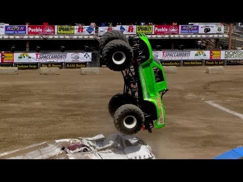 Colorado State Fair | Monster Truck Freestyle 2013