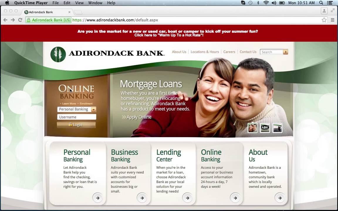Adirondack Bank Personal Loans