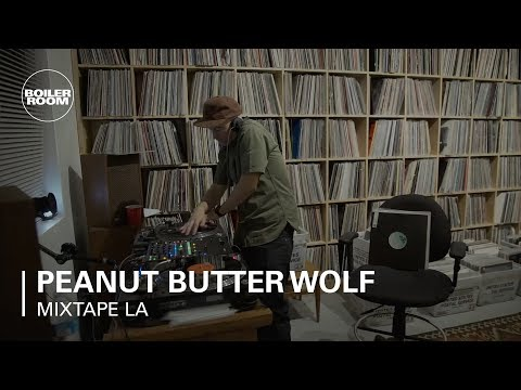 Peanut Butter Wolf / Stones Throw x Boiler Room