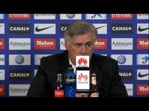 "Carlo Ancelotti nach Stadtderby: ""Bleiben Tabellenführer"" | Atletico Madrid - Real Madrid 2:2"