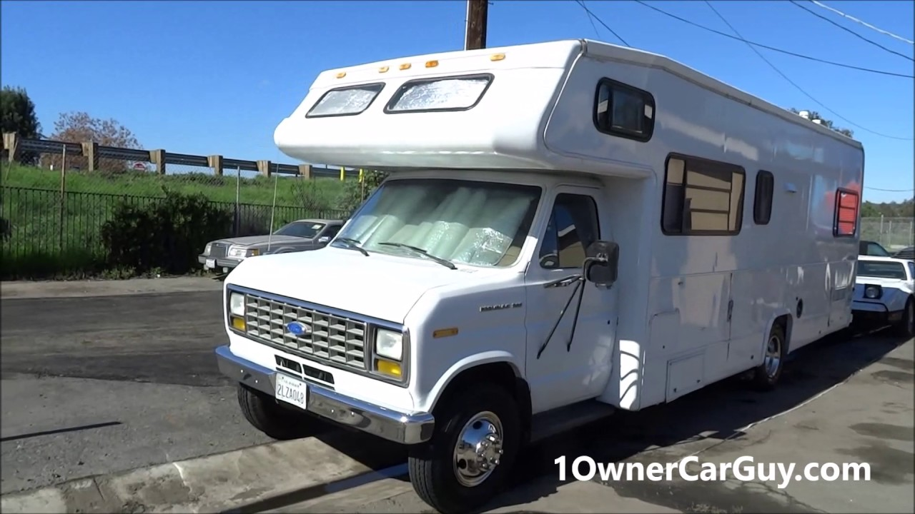 Buy a Class C Motorhome RV ~ Low Mile For Sale - YouTube