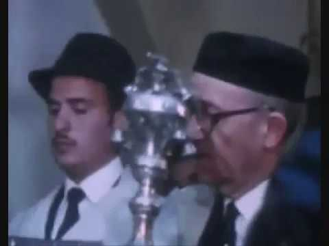 Rare Footage of Rosh HaShanah Prayers at Tangier, Morocco