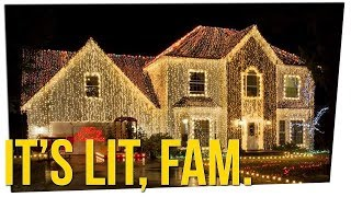 Man Wins Neighborhood Battle Over Christmas Lights ft. Steve Greene