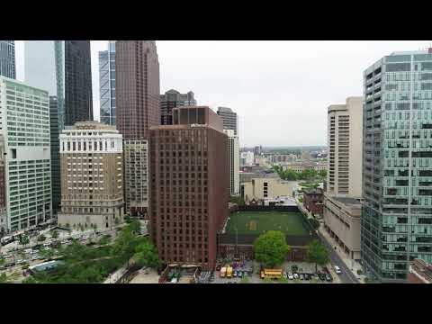 Benjamin Franklin Parkway Friends Select School - Philly By Drone DJI 0053
