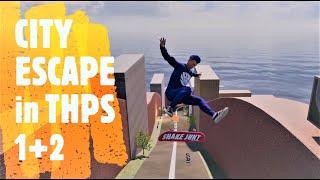 City Escape (Sonic Adventure 2) in Tony Hawk's Pro Skater 1+2