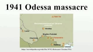 1941 Odessa massacre