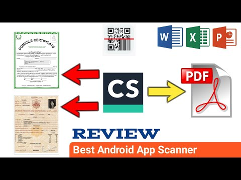 How To Use CamScanner Android App | CamScanner (CS) Se Documents Kaise Scan Karin
