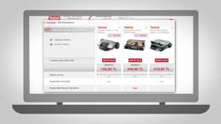 Tefalshop.com.tr Web sitesi tanıtım videosu