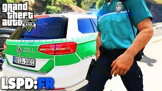 GTA 5 LSPD:FR - Zoll mit Kontrollpunkt - Deutsch - Polizei Mod #55 Grand Theft Auto V